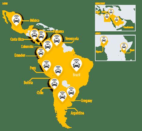 Easy Taxi llega a 83 Millones de viajes - easy-taxi-presencia-en-18-paises