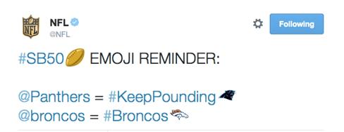 Sigue de cerca el Super Bowl a través de Twitter - emojis-nfl