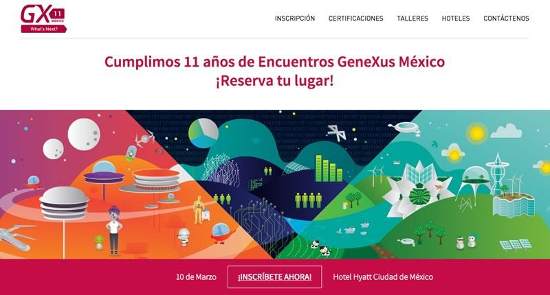El futuro de desarrollo de Apps será presentado en el Encuentro GeneXus de México - genexus-mexico