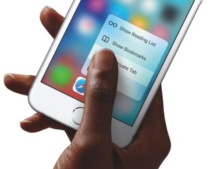 Apple recibe otra demanda, ahora por violación de patente del 3D Touch