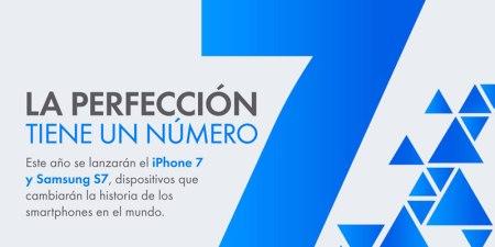 iPhone 7 y Galaxy S7, estos serían sus características según los rumores ¿Cuál prefieres?