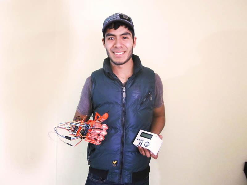 Ingeniero del IPN desarrolla sistema para traducción de señas - jose-manuel-lira-avalos