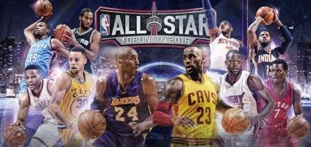 Juego de Estrellas de la NBA 2016, este domingo 14 de febrero
