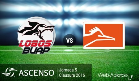 Lobo BUAP vs Correcaminos, Ascenso MX C2016 ¡En vivo por internet! | Jornada 5