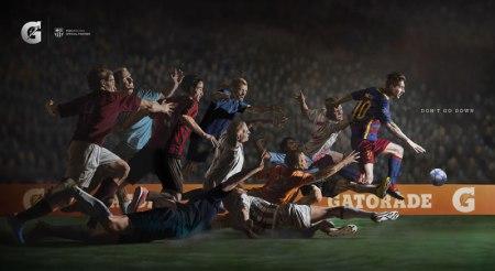 """Messi protagoniza """"No Te Caigas"""", la nueva campaña de Gatorade"""