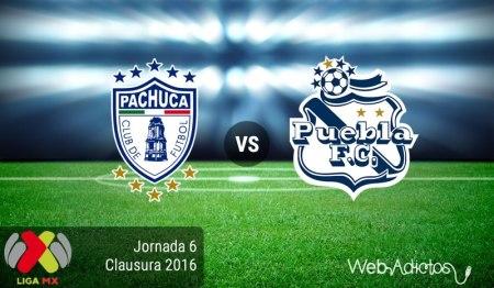 Pachuca vs Puebla, Fecha 6 del Clausura 2016 ¡En vivo por internet!
