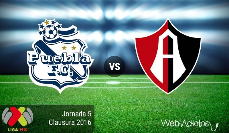 Puebla vs Atlas, Fecha 5 del Clausura 2016 - puebla-vs-atlas-clausura-2016