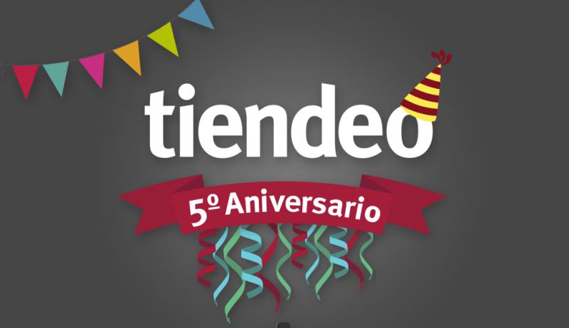 Tiendeo, la startup de catálogos y ofertas online ¡Cumple 5 años! - tiendeo_5_aniversario