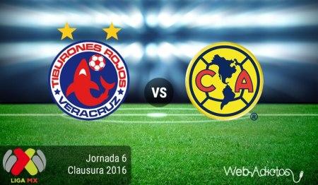 Veracruz vs América, Clausura 2016 de la Liga MX ¡En vivo por internet!