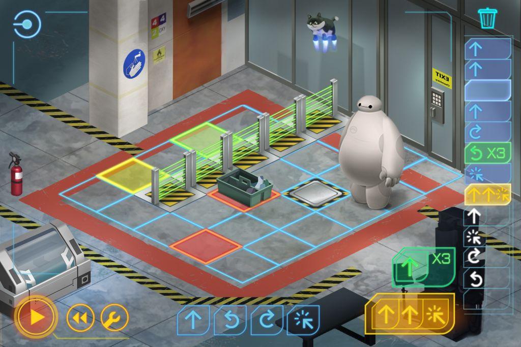 Code Baymax, el juego de Disney para aprender programación - 3-imagen-juego-code-baymax