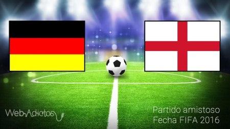 Alemania vs Inglaterra, Partido Amistoso 2016 | Resultado: 2-3