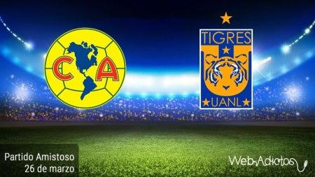 América vs Tigres, Partido amistoso 2016 | Resultado: 2-3