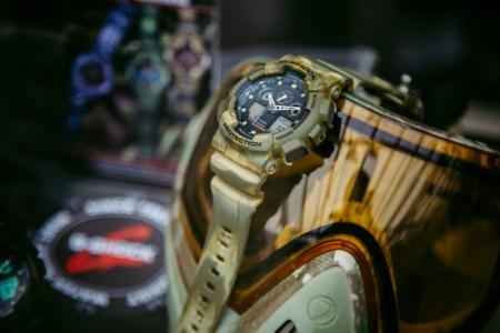 Nueva colección de relojes G-SHOCK que eleva los estándares de resistencia - camo-marble-gshock-ga-100mm-5a