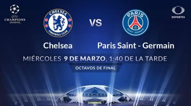 Chelsea vs PSG, Octavos de Champions League 2016 | Vuelta - chelsea-vs-psg-por-televisa-deportes-champions-league-2016