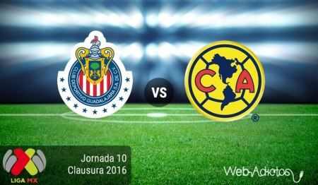 Chivas vs América, el clásico en el Clausura 2016 | Jornada 10