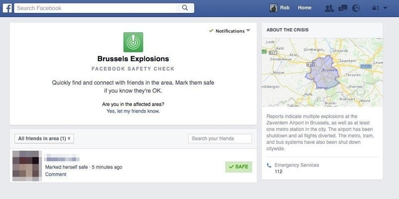 """Facebook vuelve a hacer uso del """"Safety Check"""" tras los atentados de Bruselas - facebook-bruselas-800x400"""