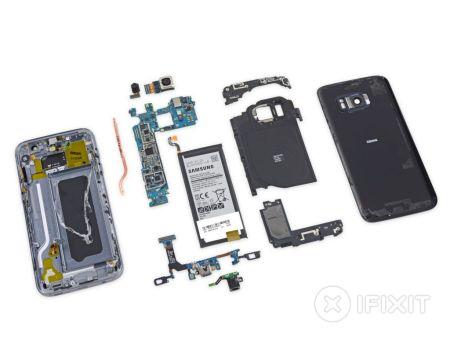 El Galaxy S7 es difícil de reparar.