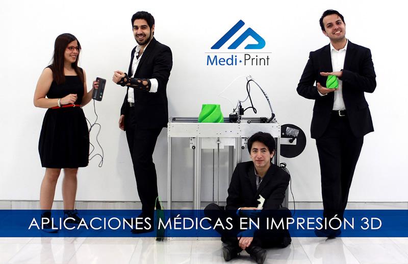 Mexicanos cambian las férulas de yeso por impresión 3D - mediprint-impresion-3d