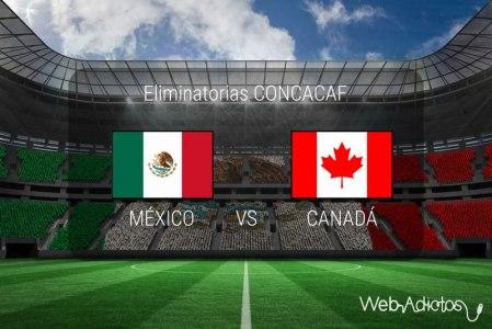 México vs Canadá, Eliminatorias CONCACAF 2018 | Resultado: 2-0