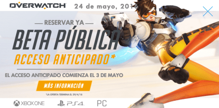 Overwatch llega al mercado este 24 de mayo para PC, PS4 y Xbox One