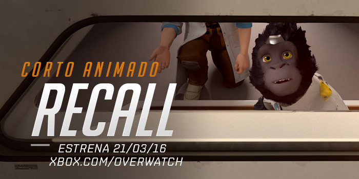Recall, el primer corto animado de Overwatch ya disponible - recall-overwatch