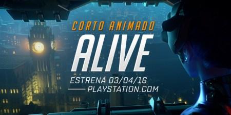 ALIVE, el nuevo Corto Animado de Overwatch llega en abril