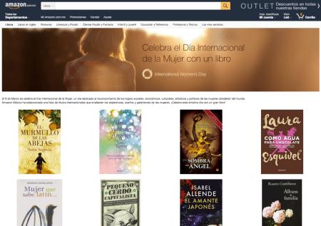 Amazon México crea selección especial de libros para celebrar el Día Internacional de la Mujer