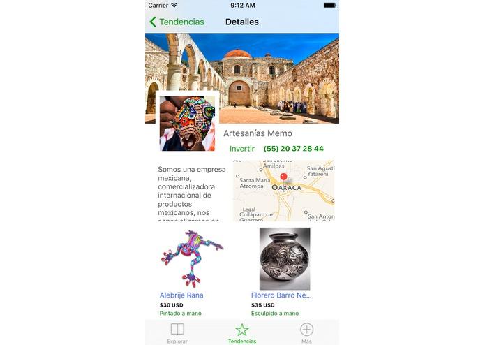 Tianquis, aplicación que busca apoyar a los artesanos gana el Hackamano 2016