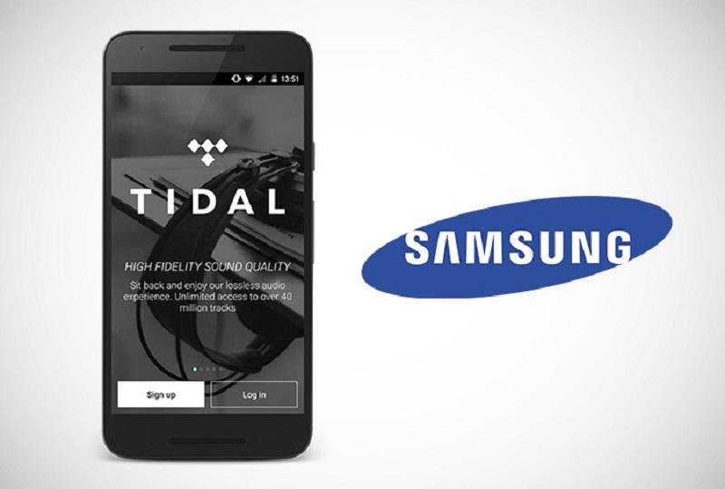 Samsung desmiente estar interesado en comprar TIDAL - tidal-samsung-800x539