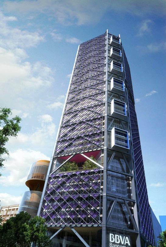 Los nuevos gigantes rascacielos que cambiarán el paisaje de la CDMX - torre-bancomer