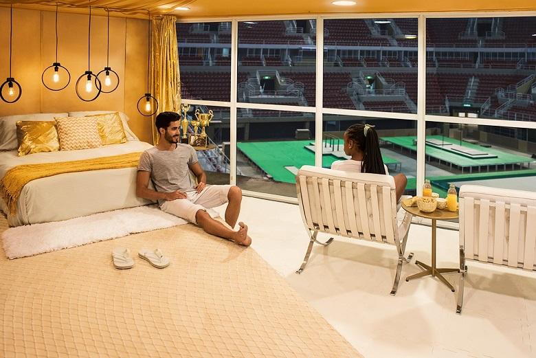 Airbnb anuncía la primera habitación construida dentro de la Arena Olímpica de Río - airbnb-arena-olimpica-de-rio-1