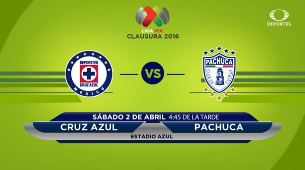 Cruz Azul vs Pachuca, Jornada 12 del Clausura 2016 | Resultado: 0-0 - cruz-azul-vs-pachuca-televisa-deportes-clausura-2016