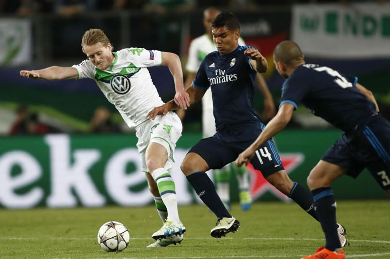 A qué hora juega Real Madrid vs Wolfsburg y qué canal lo pasa - horario-real-madrid-vs-wolfsburg-champions-league-2016