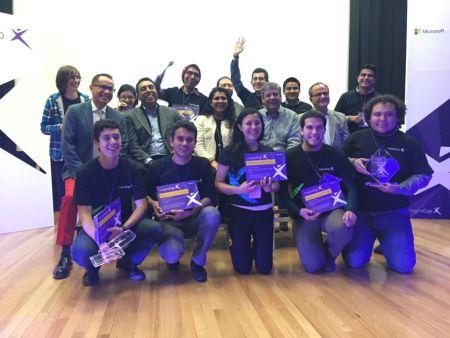 Estudiantes mexicanos demuestran sus habilidades tecnológicas en Imagine Cup 2016