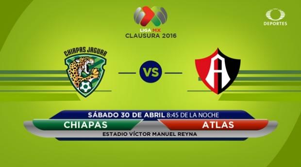 Jaguares vs Atlas, Jornada 16 del Clausura 2016 | Resultado: 0-3 - jaguares-vs-atlas-por-televisa-deportes-clausura-2016
