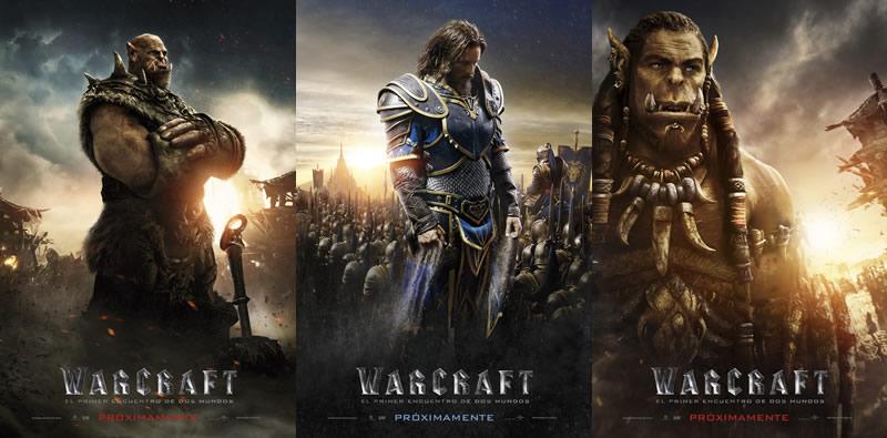 Revelan los pósters de los personajes de WarCraft: El primer encuentro de dos mundos - posters-de-personajes-de-warcraft