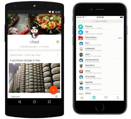 Reddit lanza su aplicación oficial para Android y iOS