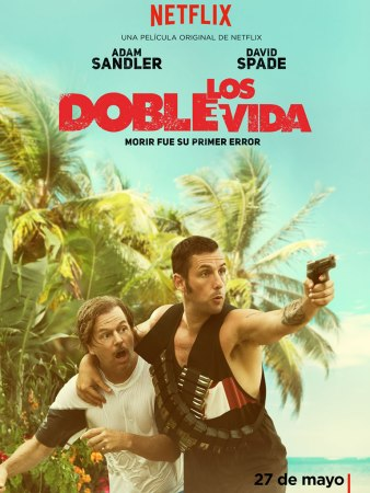 Mira el primer trailer de The Do-Over de Adam Sandler
