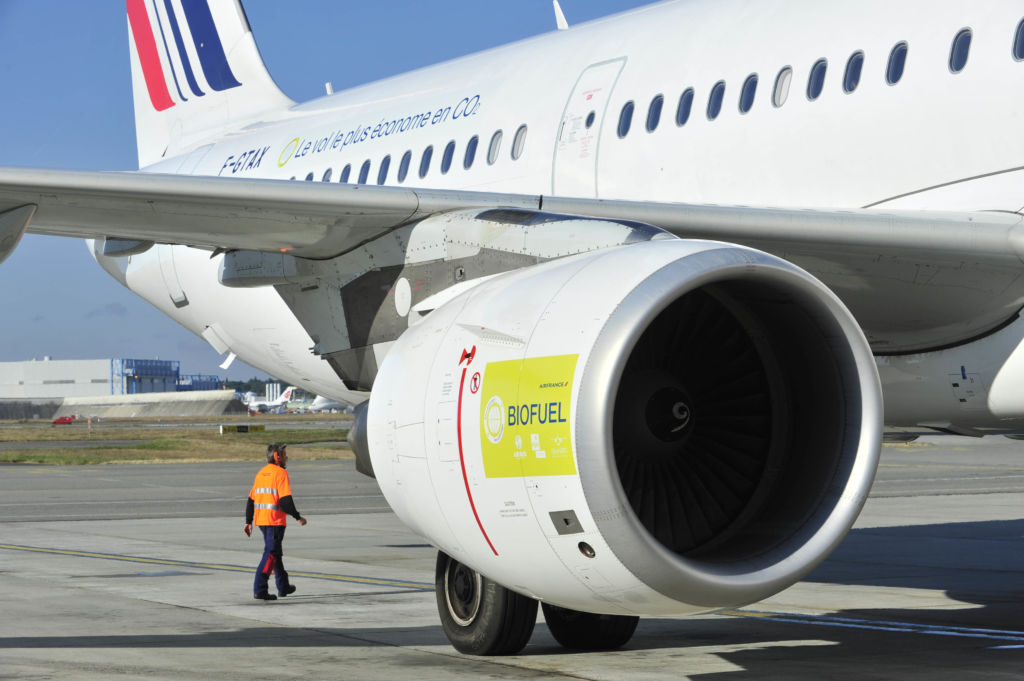Durante el Festival de Cannes, Air France operará 24 vuelos con biocombustible - af-biocombustible