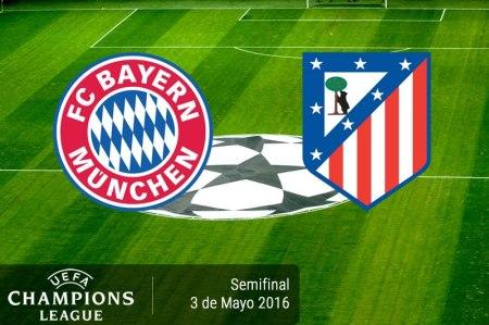 Bayern Munich vs Atlético de Madrid, Semifinal Champions 2016 | Resultado: 2-1