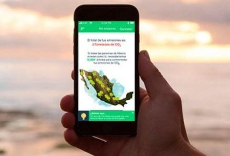 Estudiantes desarrollan app para reducir emisiones de gases de efecto invernadero