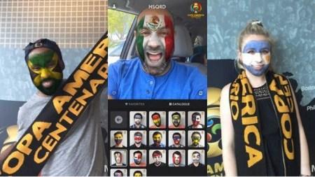 """Facebook lanza """"máscaras"""" para Copa América Centenario"""