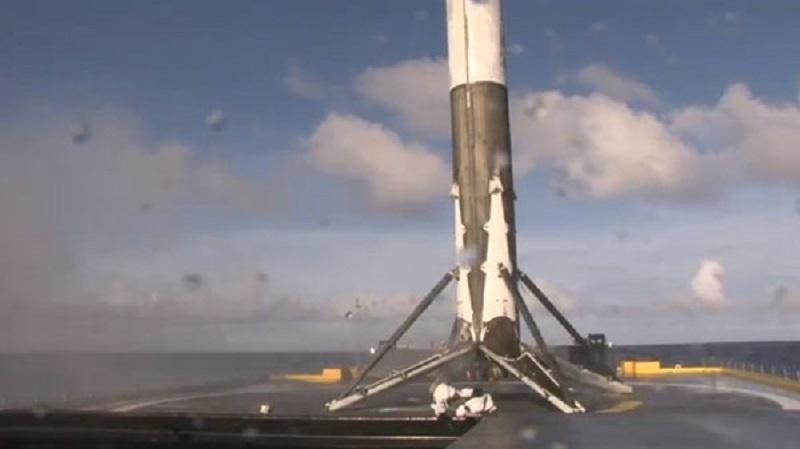 SpaceX: Falcon 9 regresa a la Tierra por cuarta vez sano y salvo - falcon-9-spacex-800x449