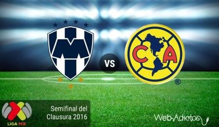 Monterrey vs América, Semifinal Clausura 2016 | Resultado: 4-2