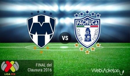 Monterrey vs Pachuca 2016, Final | Resultado: 1-1