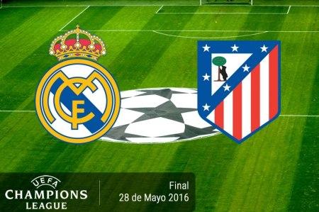 Real Madrid vs Atlético de Madrid, Final Champions 2016 | Resultado: 1-1