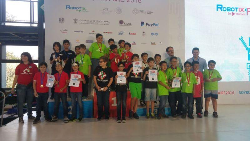 Niños ganadores de nacional de robótica viajarán a Silicon Valley - robotix-faire-2016-800x450