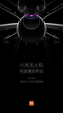 Xiaomi revelará su primer dron el 25 de mayo