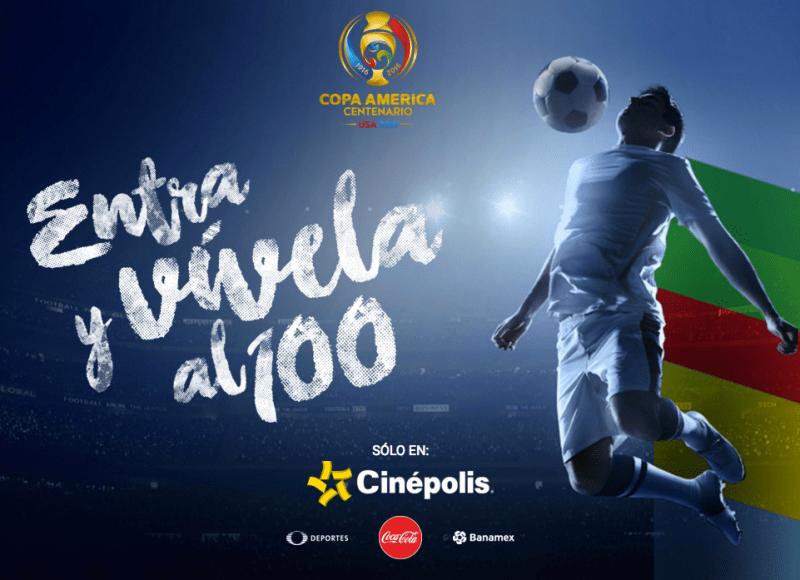 Cinépolis transmitirá la Copa América Centenario 2016 - cinepolis-transmitira-lo-mejor-de-la-copa-america-centenario-2016-800x580