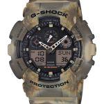 Camouflage serie G-Shock, diseño marmoleado en la que ninguna pieza es idéntica - ga-100mm-5a